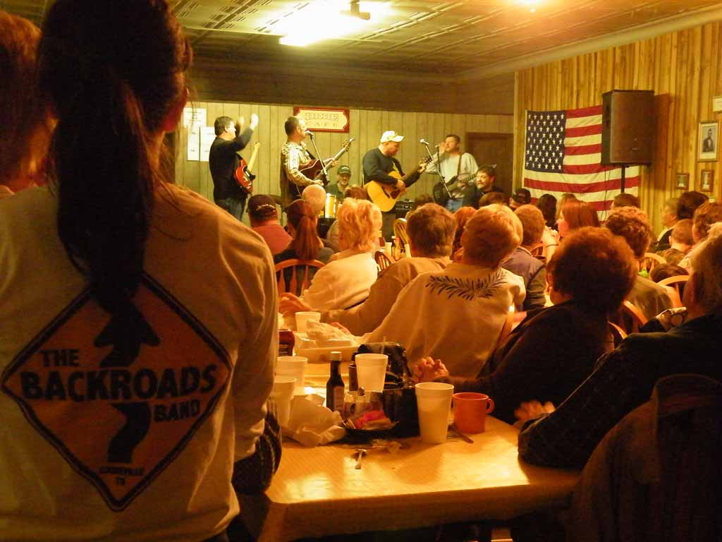 Backroads Band at the Dixie Cafe